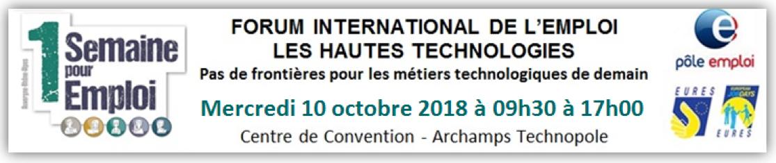 Forum International de l'Emploi des Hautes Technologies